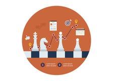 Set of flat design vector illustration concepts Stock Image