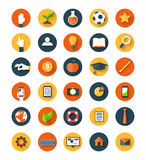 Set of flat icon Stock Images