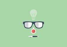 Set of flat illustration design business concept Royalty Free Stock Images