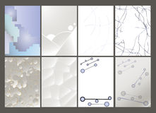 Set of Flier, Brochure Design Templates. Stock Photo