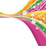 Set of floral backgrounds. A illustration for your design project Royalty Free Illustration