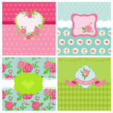 Set of Floral Card Stock Images