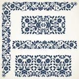Set of floral elements for design. Stock Images