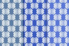 Set of floral ornaments. Vertical blue seamless patterns. Set of floral ornaments. Blue vertical seamless patterns. Wallpaper backgrounds Stock Photography