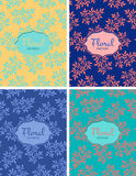 Set of floral seamless patterns. Floral seamless pattern.Seamless pattern can be used for wallpaper, pattern fills, web page background,surface textures Stock Photos