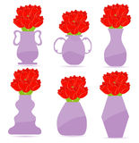 Set of  flower Stock Image