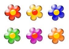 Set of flower Royalty Free Stock Photo