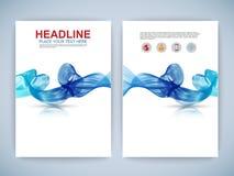 Set of Flyer, Brochure Design Templates Stock Images