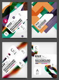 Set of Flyer Templates, Business Web Layouts Stock Images