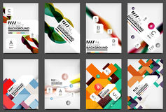 Set of Flyer Templates, Business Web Layouts Stock Photos