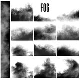 Set of fog effects Royalty Free Stock Photo