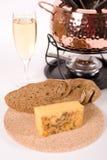Set for fondue Stock Photo