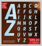 Set font low poly design style alphabet multi color   Stock Photos