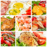 Set of food Stock Photo
