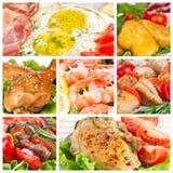 Set of food Stock Photo