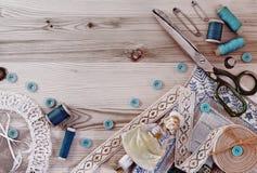 Free Set For Needlework Stock Images - 42855424