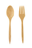 Set of fork and spoon Stock Photos