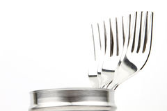 Set of forks Stock Image