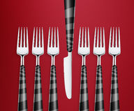 Set of forks Stock Images