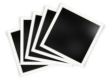 Set fotografii ramy szablony ilustracja wektor
