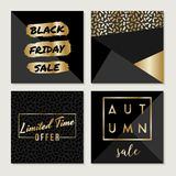 Black Friday Sale Collection Royalty Free Stock Photo