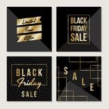 Black Friday Sale Collection Stock Images