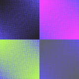 Set of four background color Stock Image