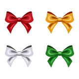Set of four bows. Stock Photo