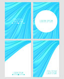 A set of four covers. Drapery. Royalty Free Stock Image