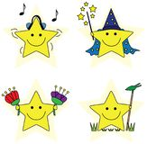 Little stars royalty free illustration