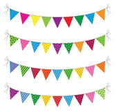 Bunting vector illustration