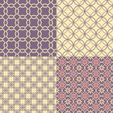 Seamless abstract patterns Royalty Free Stock Photos