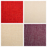 Set from four textile backgrounds Royalty Free Stock Photography