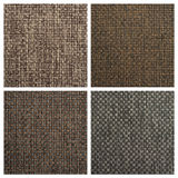 Set from four textile backgrounds Royalty Free Stock Images