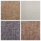 Set from four textile backgrounds Stock Image