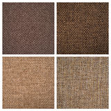 Set from four textile backgrounds Stock Photography