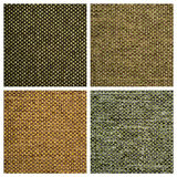 Set from four textile backgrounds Royalty Free Stock Photo