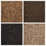Set from four textile backgrounds Royalty Free Stock Image