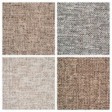 Set from four textile backgrounds Stock Images