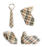 Set of four ties Royalty Free Stock Image