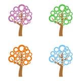 Four trees Stock Photo