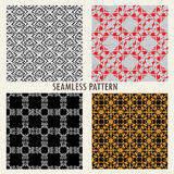 Set of four vector patterns Stock Photography