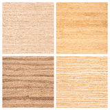 Set of four wooden texture backgrounds Royalty Free Stock Photos