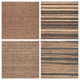 Set of four wooden texture backgrounds Royalty Free Stock Photography