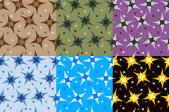 Set fractals i elementy obracanie Royalty Ilustracja