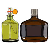 Set Fragrance for Men Stock Photos