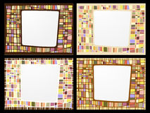 Set of frame Royalty Free Stock Photos