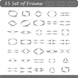 Set of Frame. For your design Royalty Free Stock Images