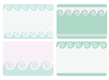 Set of frames Royalty Free Stock Photos