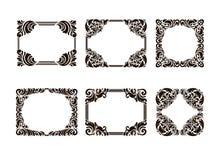 Set of frames Royalty Free Stock Image